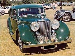 Jaguar MK IV 2½ Litre