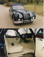 Jaguar XK 140 Drop Head Coupé SE