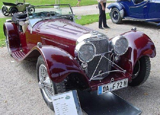 Jaguar SS 100 2½ Litre