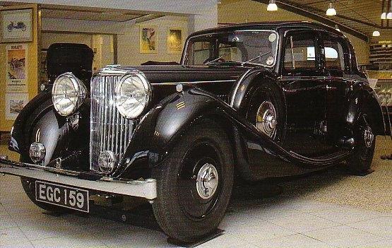 Jaguar SS 2½ Litre Saloon